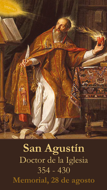 *SPANISH* St. Augustine's Prayer to the Holy Spirit